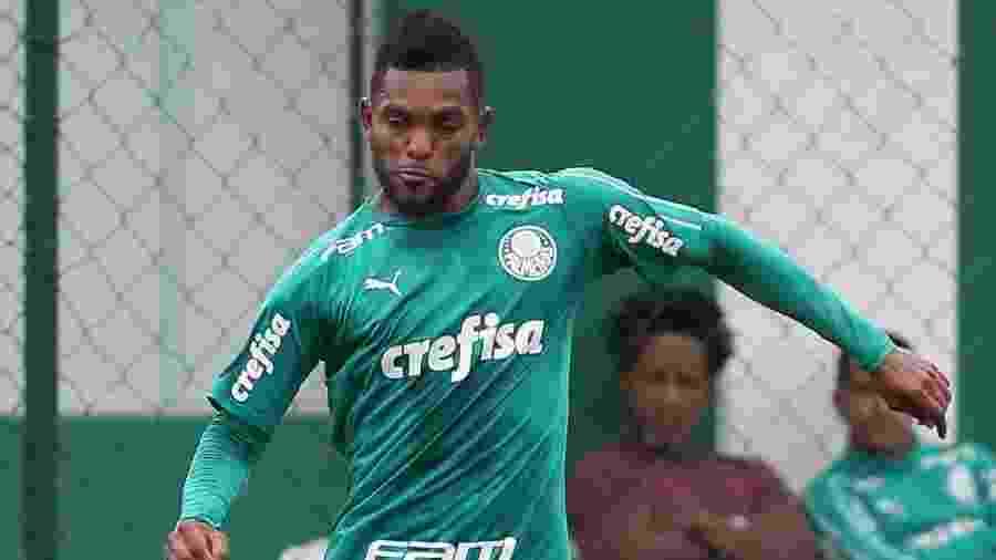 Borja é uma das opções de Felipão para montar o ataque do Palmeiras - Cesar Greco/SE Palmeiras