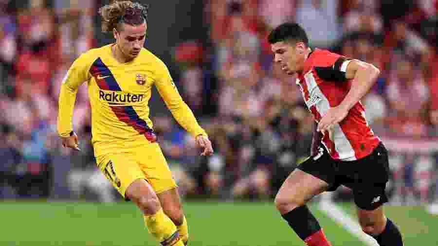 Athletic Bilbao x Barcelona pela La Liga - REUTERS/Vincent West