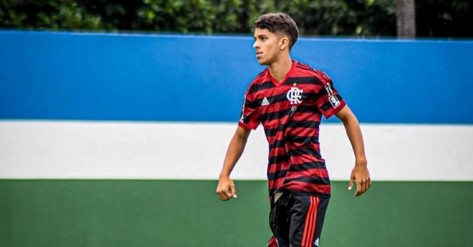 Felipe Cardoso, durante jogo pelo Flamengo