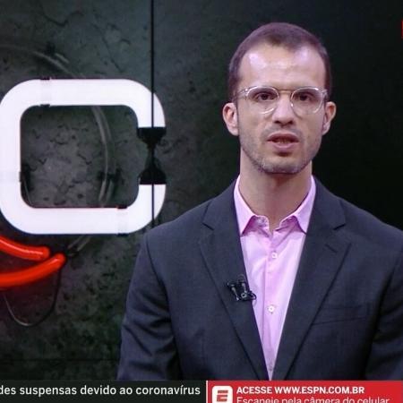 Jornalista André Kfouri, da ESPN Brasil - Reprodução