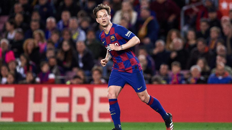Ivan Rakitic, jogador do Barcelona  - Alex Caparros/Getty Images