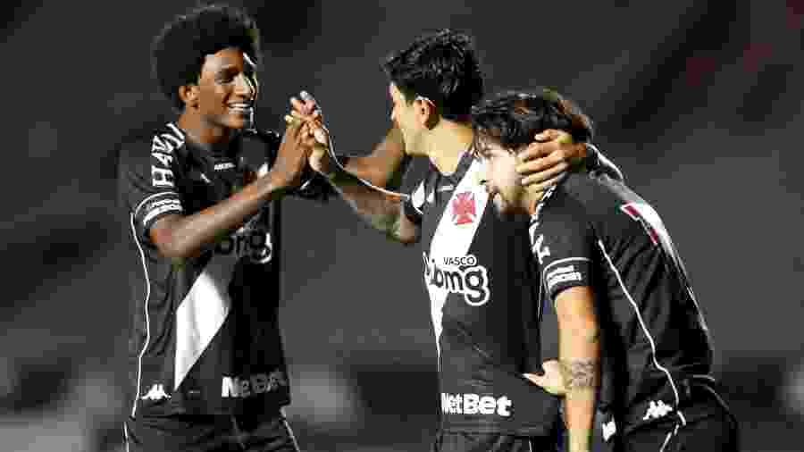 Germán Cano, Talles Magno e Benítez estão escalados pelo Vasco para enfrentar o Botafogo - Rafael Ribeiro / Vasco