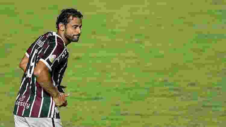 Fred entrou visivelmente fora de ritmo no Fluminense em empate com o Vasco - THIAGO RIBEIRO/ESTADÃO CONTEÚDO - THIAGO RIBEIRO/ESTADÃO CONTEÚDO