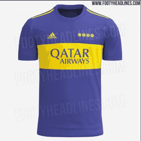 Possível nova camisa do Boca Juniors vaza em portal  - FootyHeadlines - FootyHeadlines