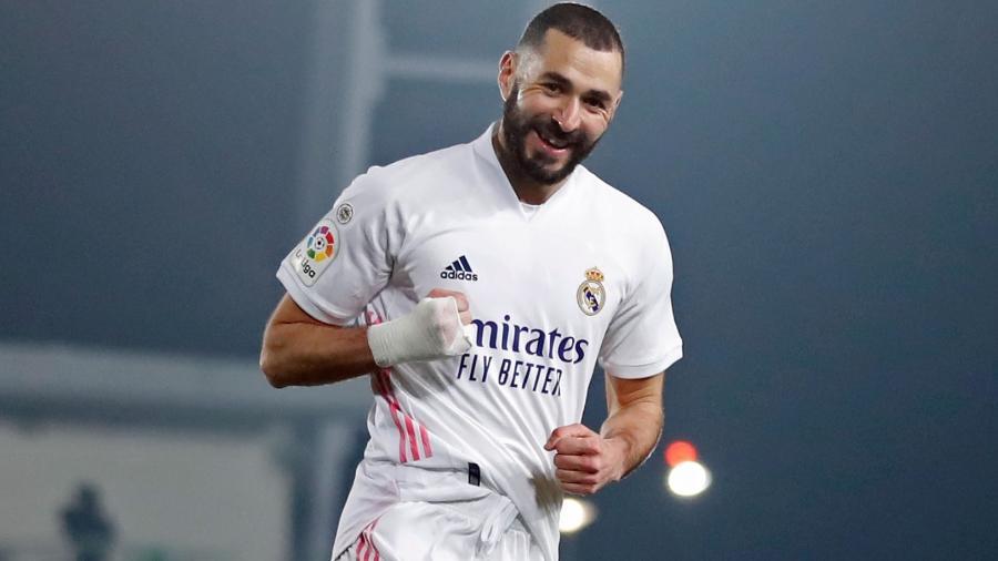 Karim Benzema brilha no Real Madrid, mas não joga na seleção francesa - Divulgação