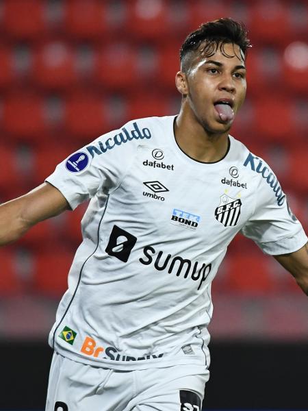 Kaio Jorge tem contrato com o Santos apenas até dezembro deste ano - Staff Images/Conmebol