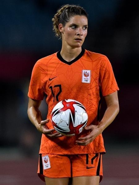Dominique Janssen, jogadora da Holanda - Pablo Morano/BSR Agency/Getty Images