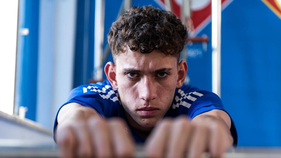 Atacante Stênio foi emprestado pelo Cruzeiro ao Torino e atuará no futebol italiano - Bruno Haddad/Cruzeiro