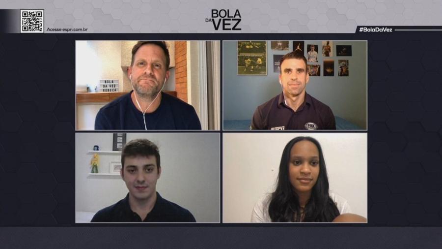 """Ginasta brasileira participou do """"Bola da Vez"""", programa da ESPN Brasil que vai ao ar neste sábado, às 20h (horário de Brasília) - Reprodução"""