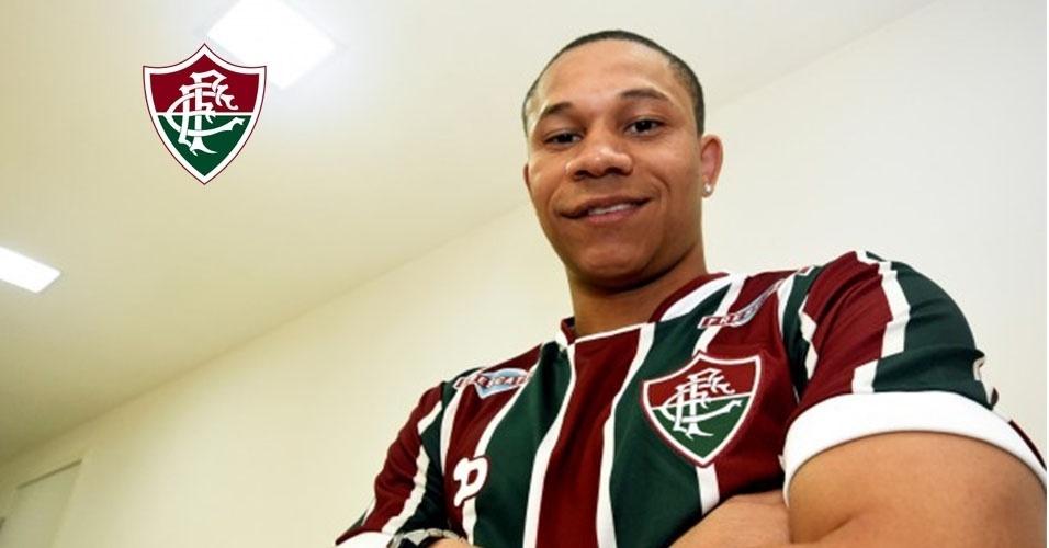 Montagem - Wellington Silva (atacante) - Do Arsenal (ING) para o Fluminense