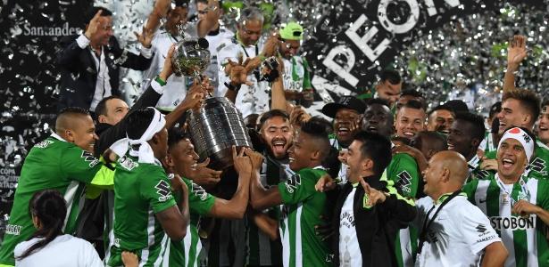 Atlético Nacional voltou a ser campeão da Libertadores após 27 anos