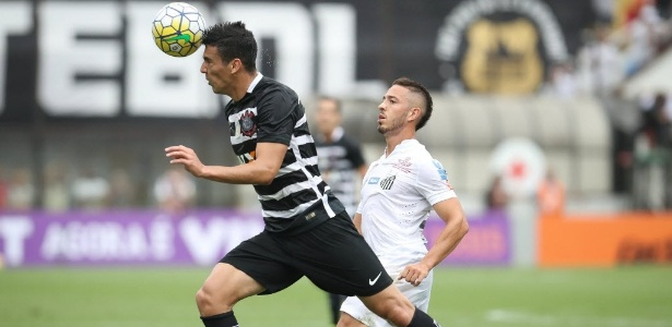 Balbuena em ação contra o Santos: dois gols sofridos e derrota na Vila
