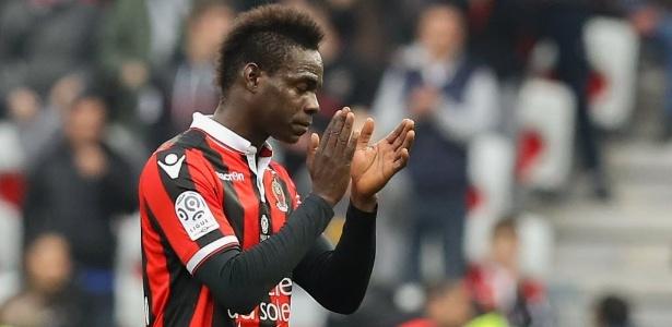 Balotelli faz boa temporada pelo Nice, que se classificou para a Liga dos Campeões
