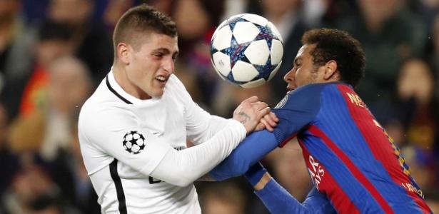 Verratti teria propostas do Barcelona