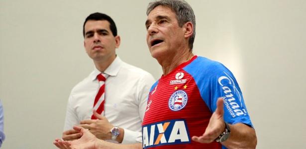 Carpegiani está há menos de 2 semanas no Bahia, mas já dá sua cara à equipe - Twitter/Reprodução