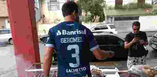 Amigos Geromel - Adriano Wilkson/UOL - Adriano Wilkson/UOL