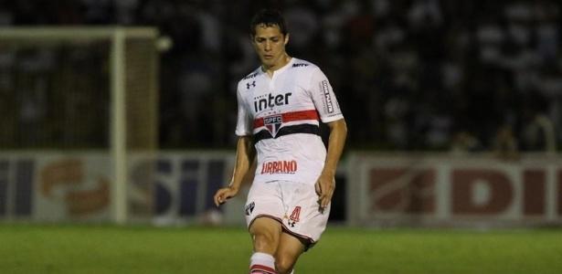 zagueiro Anderson Martins é um dos 23 jogadores relacionados para a partida - Rubens Chiri/saopaulofc.net