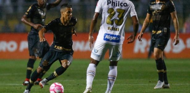 Pedrinho é um dos jogadores do Corinthians que está pendurado com o segundo cartão amarelo - Marcello Zambrana/AGIF