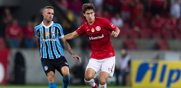 Rodrigo Dourado é dúvida na partida contra o Fluminense, domingo, no Beira-Rio - Jeferson Guareze/AGIF