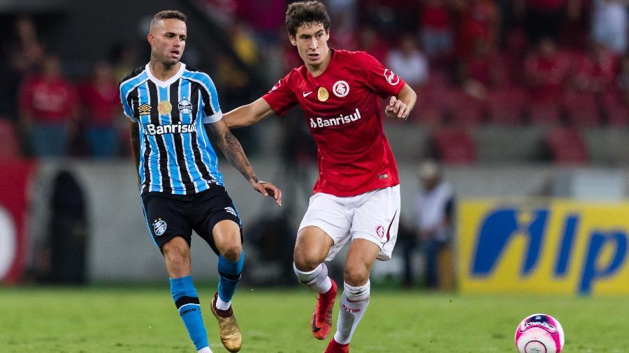 Rodrigo Dourado admite que sentiu saudade do clássico Gre-Nal quando esteve afastado - Jeferson Guareze/AGIF