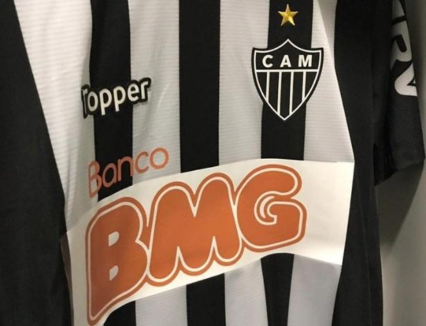 Atlético-MG anuncia volta do Banco BMG ao seu uniforme em 2019 - Divulgação/Atlético-MG