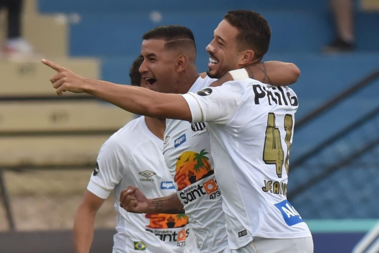 43ef5ced7b Santos goleia São Bento com golaço de estreante e brilho de Jean Mota -  24 01 2019 - UOL Esporte