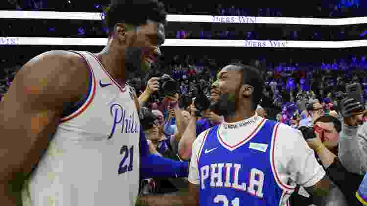 Meek Mill e Embiid - Getty Images - Getty Images