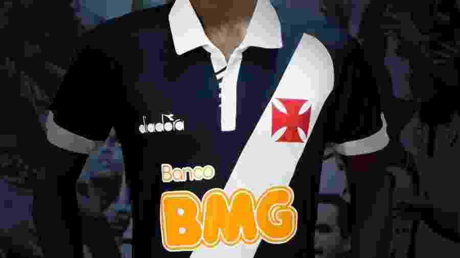 Por conta de contrato, Vasco pagava por cada peça de material esportivo que utiliza à Diadora - Divulgação / Vasco