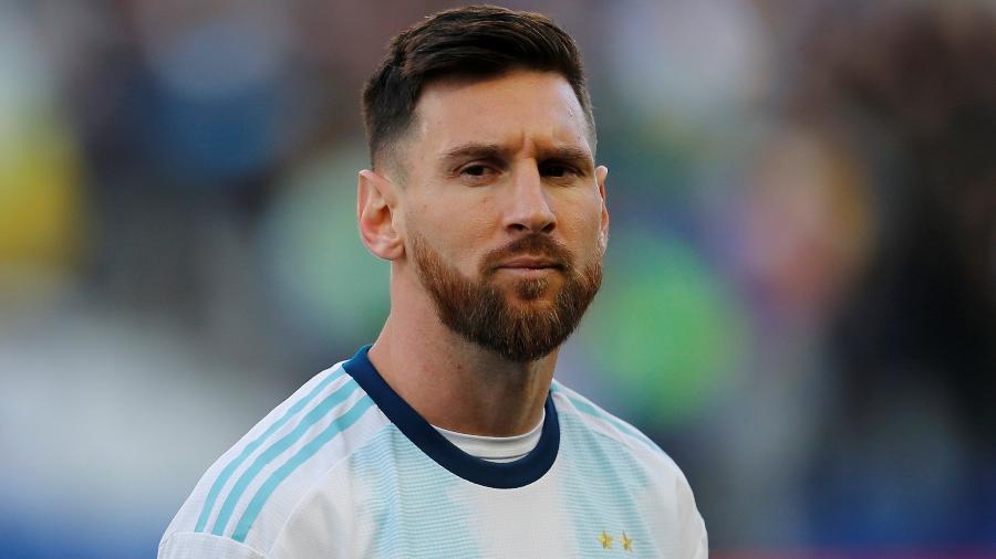 Messi pediu desculpas para a Conmebol após críticas feitas na Copa América - Luisa Gonzalez/Reuters