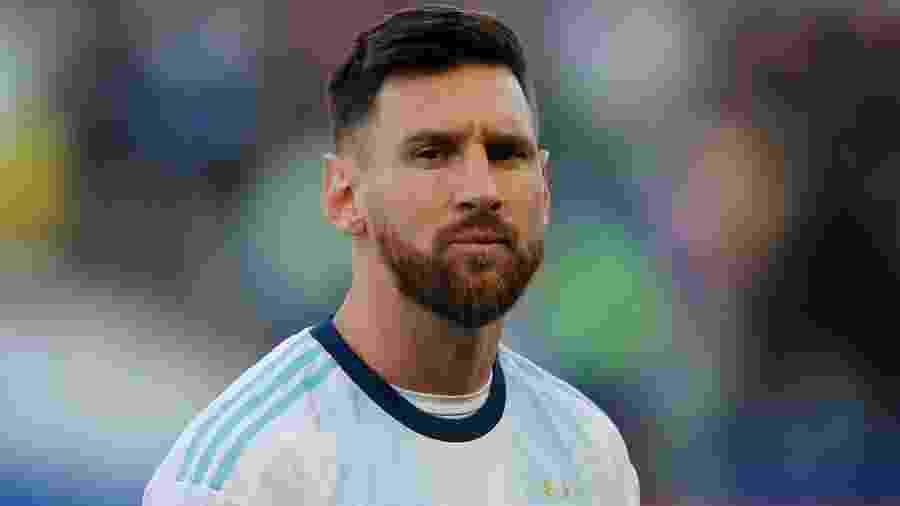 Argentina, do craque Messi, recebe amanhã a seleção equatoriana para as Eliminatórias da Copa do Qatar - Luisa Gonzalez/Reuters