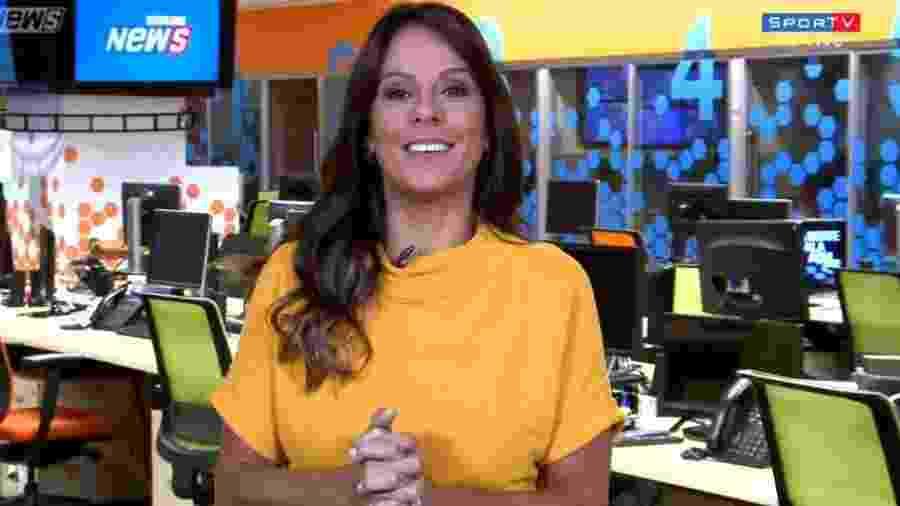 Fabiola Andrade - Reprodução/SporTV
