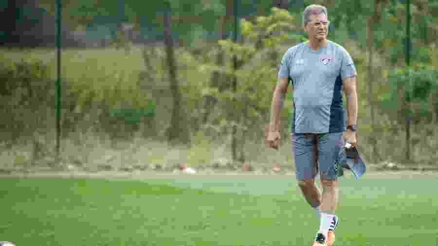 Oswaldo de Oliveira é o novo técnico do Fluminense - Daniel Perpétuo/Fluminense FC