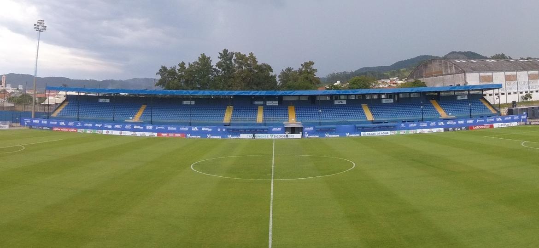 Estádio Domingos Gonzalez, do Tubarão, em breve vai receber iniciativas de sustentabilidade - Divulgação