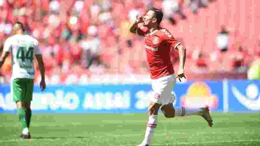 Lindoso está confiante no Inter contra o Flamengo, quarta-feira, pelo Brasileirão - Ricardo Duarte / Internacional