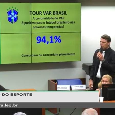 Leonardo Gaciba na Câmara dos Deputados - Reprodução