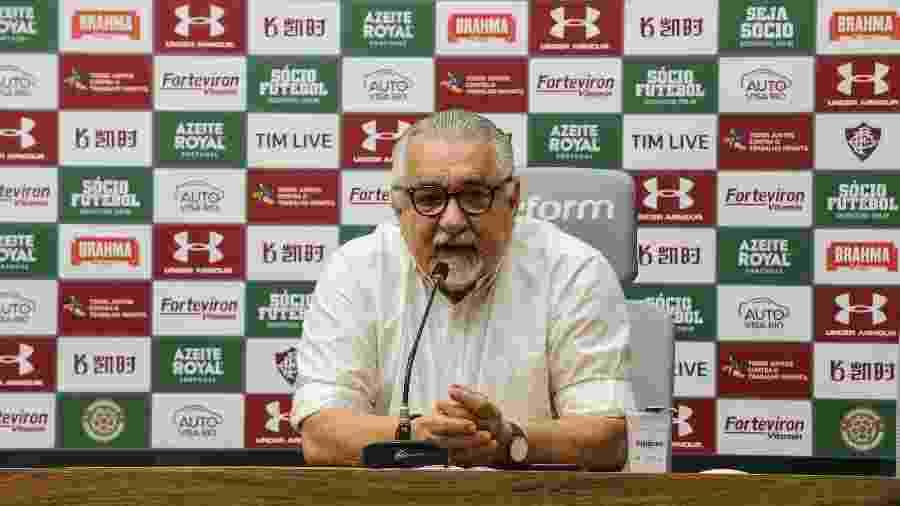 Diretor de futebol Paulo Angioni é um dos idealizadores do projeto Sub-23 do Fluminense - Lucas Merçon/Fluminense FC