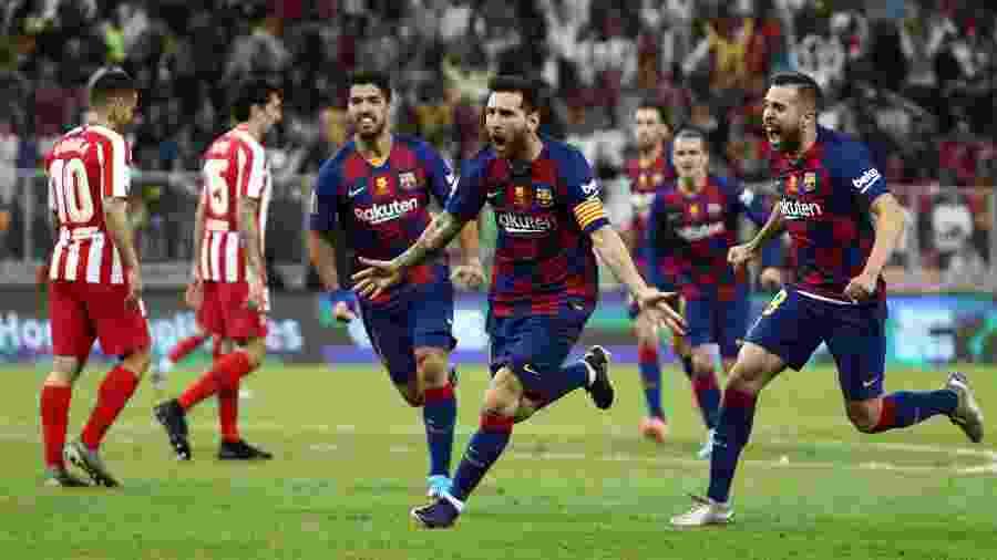 Messi vai continuar no clube e renovará seu contrato, afirmou o presidente do Barcelona - Sergio Perez/Reuters