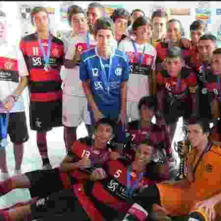 Pedro durante os tempos de futsal do Flamengo - Divulgação - Divulgação