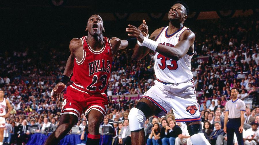 Jordan foi com o pai a um cassino de Atlantic City horas antes de enfrentar os Knicks em jogo decisivo - NBAE via Getty Images