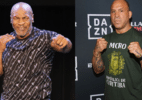 Mike Tyson x Wanderlei Silva: O que se sabe sobre a possível luta - Donald Kravitz/Getty Images e Dave Kotinsky/Getty Images for Bellator MMA