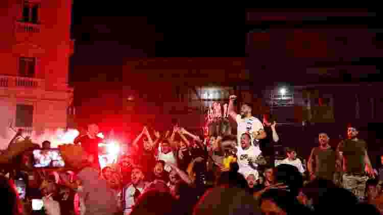 Napoli sinalizador - REUTERS/Ciro de Luca - REUTERS/Ciro de Luca