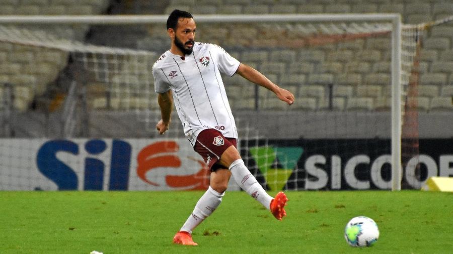 Yago está com coronavírus, mas assintomático, voltará ao Fluminense na próxima quarta-feira - Mailson Santana / FLUMINENSE FC