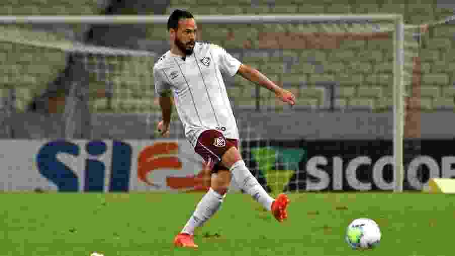 Yago está de volta ao Fluminense após cumprir quarentena de 10 dias por testar positivo para coronavírus - Mailson Santana / FLUMINENSE FC