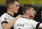 Liga das Nações: Werner faz dois, Alemanha vence e assume 1º lugar do grupo - Maja Hitij/Getty Images