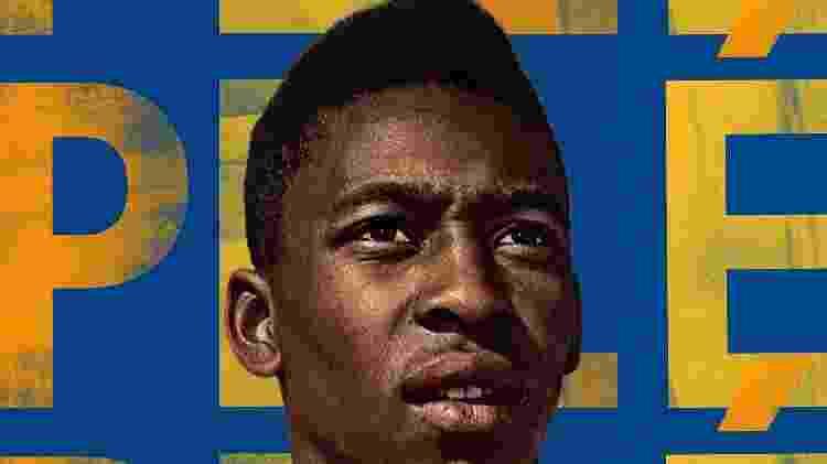 Pôster do documentário sobre Pelé na Netflix - Reprodução - Reprodução
