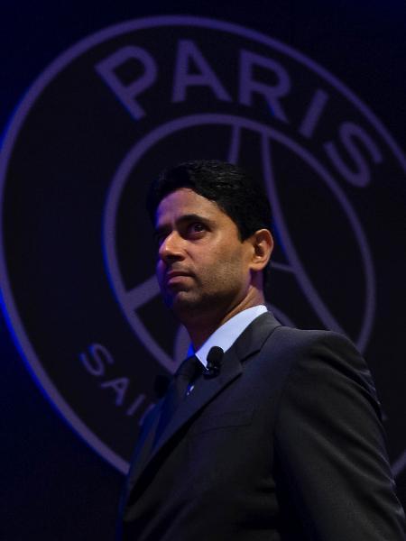 Nasser Al-Khelaifi, presidente do PSG - Aurelien Meunier - PSG/PSG via Getty Images
