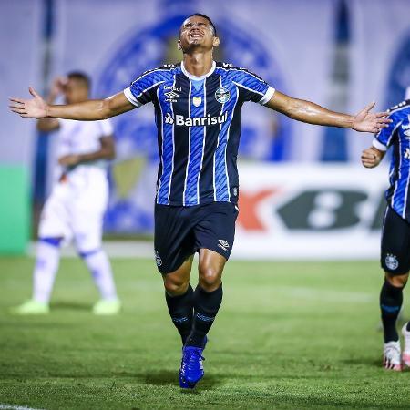 Lucas Araújo foi um dos destaques do time de garotos do Grêmio - Lucas Uebel/Grêmio