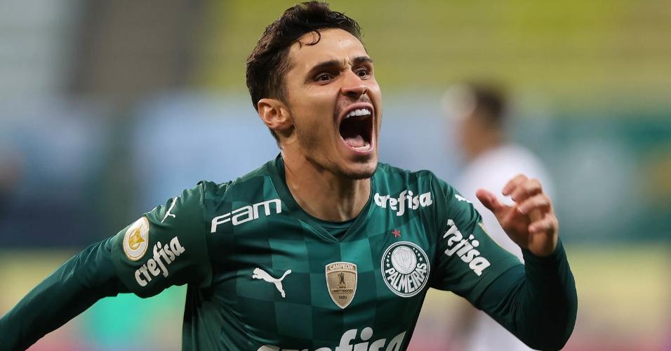 Raphael Veiga encerrou jejum de oito jogos sem gols