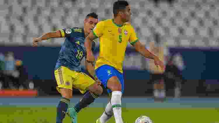 Casemiro - Thiago Ribeiro/AGIF - Thiago Ribeiro/AGIF