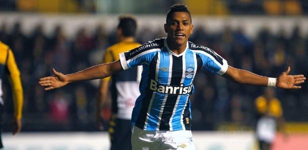 Pedro Rocha jogou 34 partidas do Brasileirão e sonha com afirmação no Grêmio